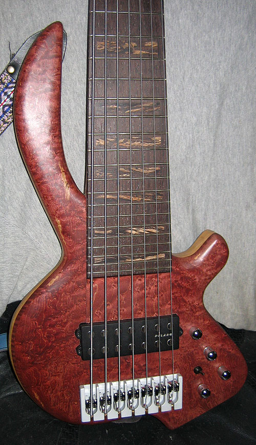 2007 Bee Basses Worker Bee fretted 7