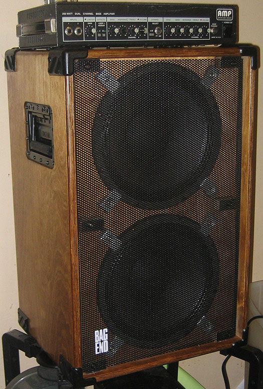 AMP BH-250 and Bag End D12-B